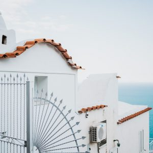 white walls architecture artwork positano italy amalfi coast