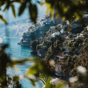 amalfi coast italy landscapes nature travel photography leela moon art